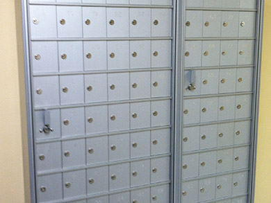 minilockers for phones keys etc - Commercial Mailboxes