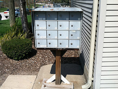 Mailboxes Before
